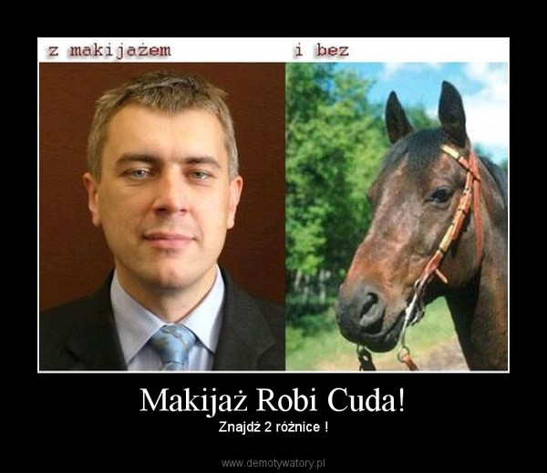 Makijaż Robi Cuda! – Znajdź 2 różnice !