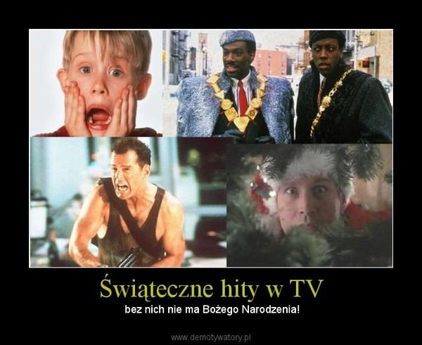 Świąteczne hity w TV –  bez nich nie ma Bożego Narodzenia!