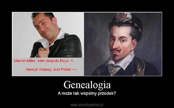 Genealogia – A może tak wspólny przodek?