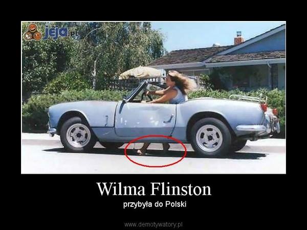 Wilma Flinston – przybyła do Polski