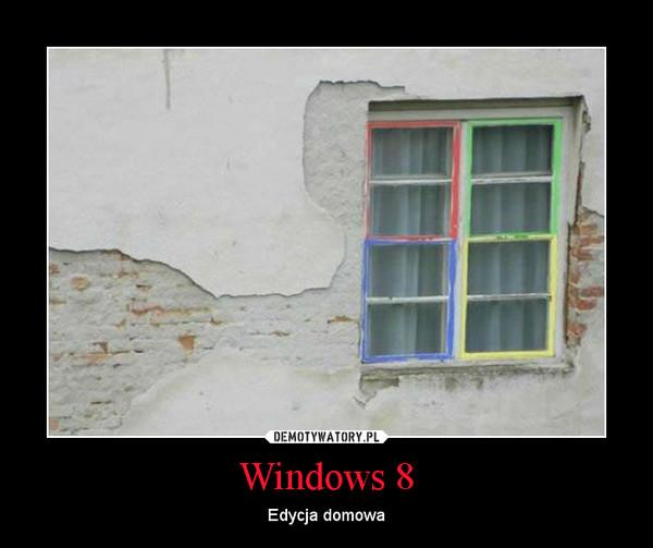 Windows 8 – Edycja domowa