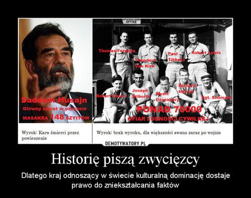 Historię piszą zwycięzcy
