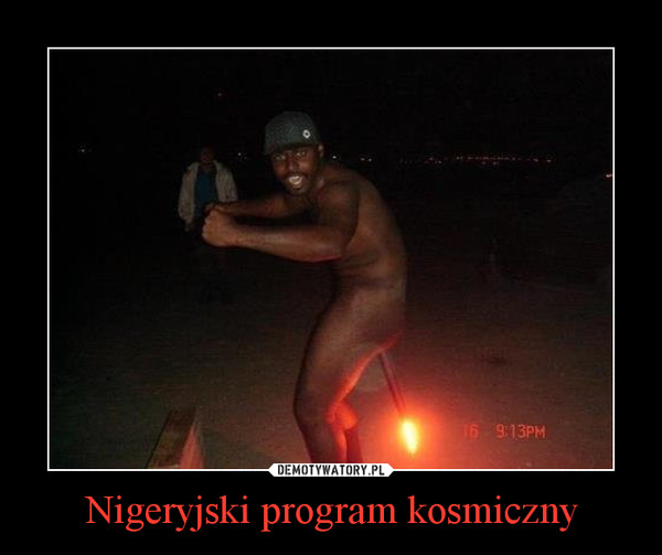 Nigeryjski program kosmiczny –