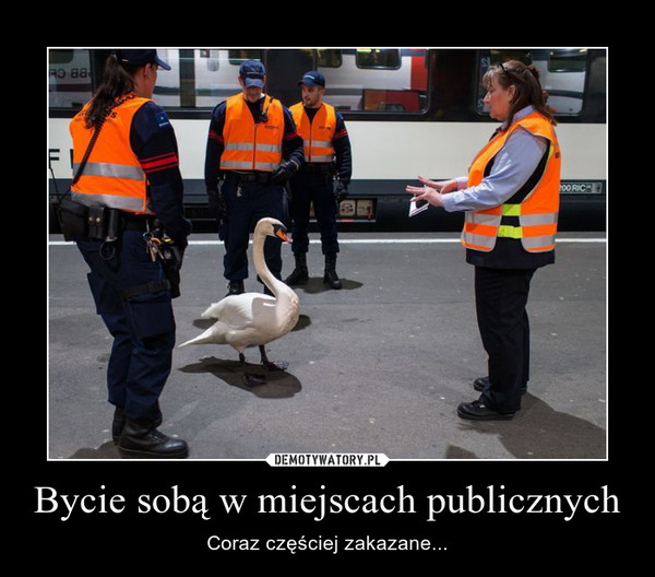 Bycie sobą w miejscach publicznych – Coraz częściej zakazane...