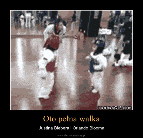 Oto pełna walka – Justina Biebera i Orlando Blooma