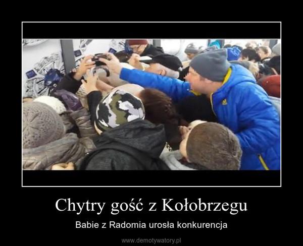 Chytry gość z Kołobrzegu – Babie z Radomia urosła konkurencja