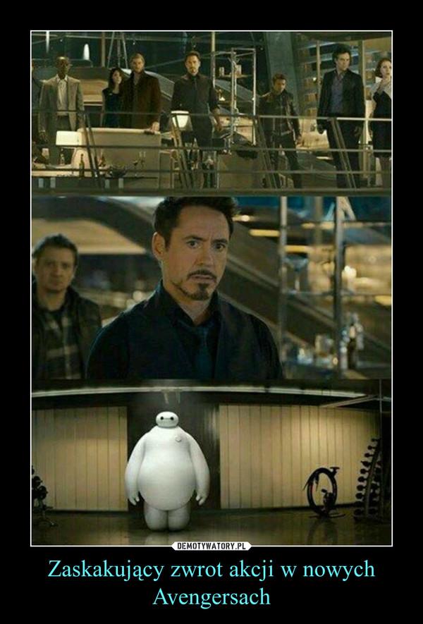 Zaskakujący zwrot akcji w nowych Avengersach –