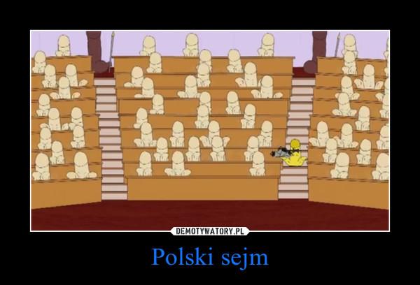 Polski sejm –