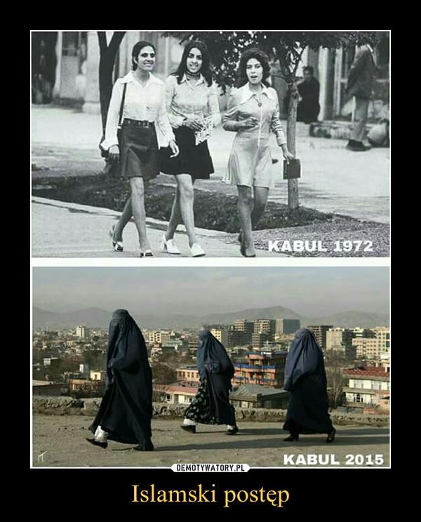 Islamski postęp –