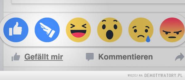 Tymczasem na niemieckim facebooku –