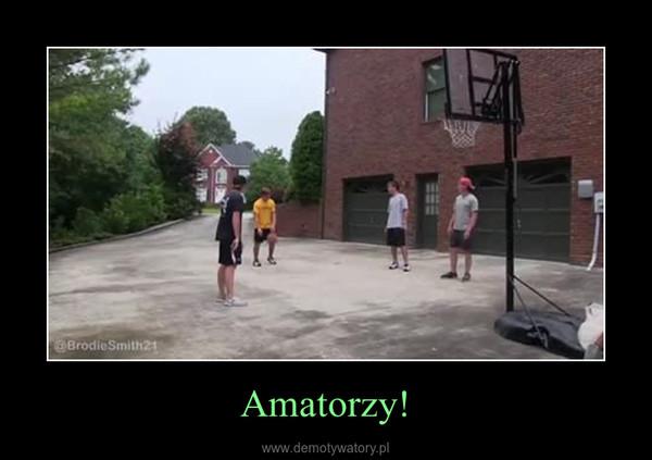 Amatorzy! –