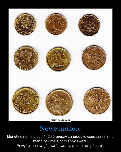 Nowe monety