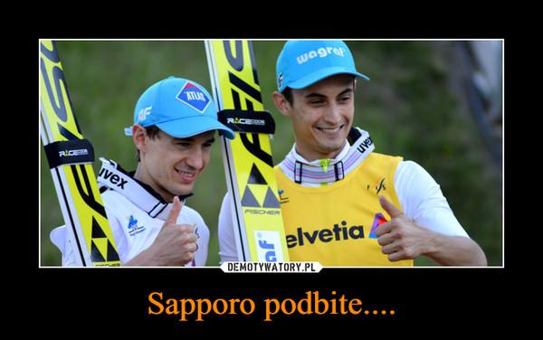 Sapporo podbite.... –