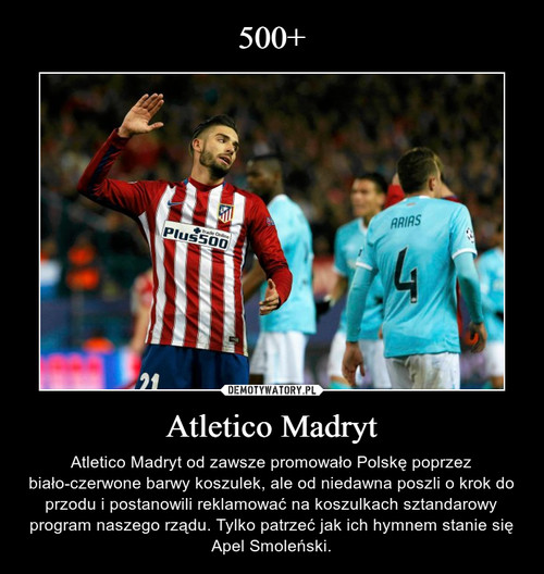 500+ Atletico Madryt