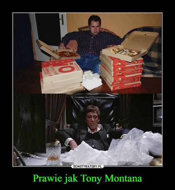 Prawie jak Tony Montana –