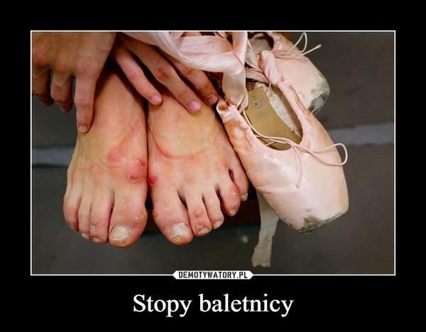 Stopy baletnicy –
