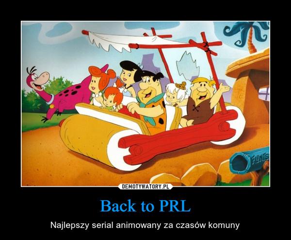 Back to PRL – Najlepszy serial animowany za czasów komuny