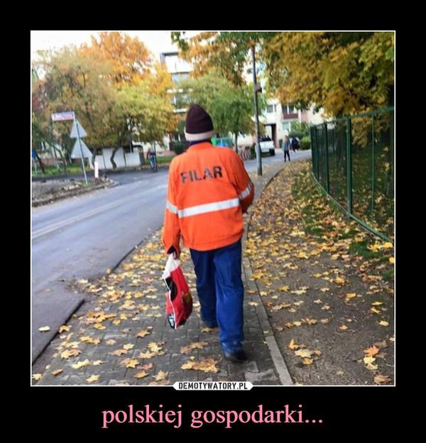 polskiej gospodarki... –