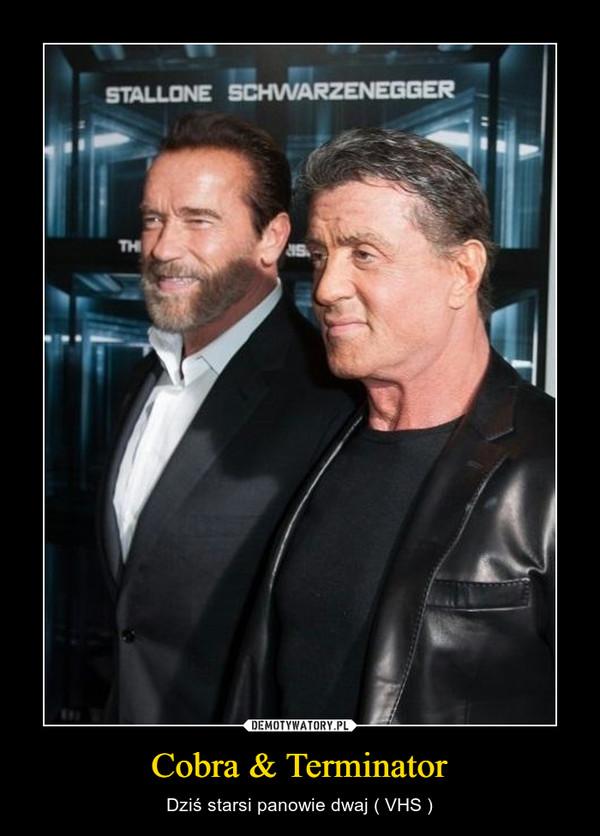 Cobra & Terminator – Dziś starsi panowie dwaj ( VHS )