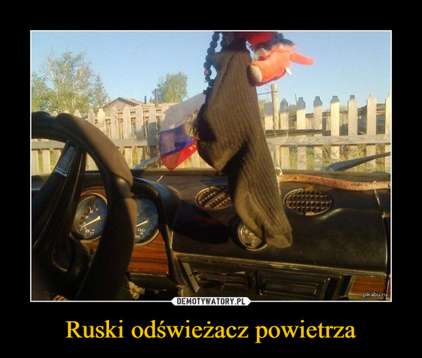 Ruski odświeżacz powietrza –