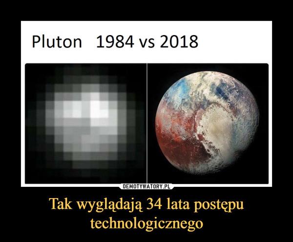 Tak wyglądają 34 lata postępu technologicznego –  Pluton 1984 vs 2018