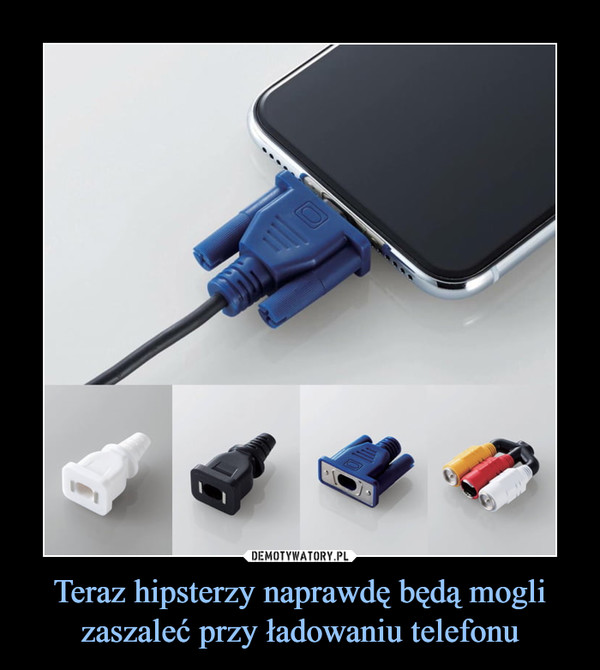 Teraz hipsterzy naprawdę będą mogli zaszaleć przy ładowaniu telefonu –