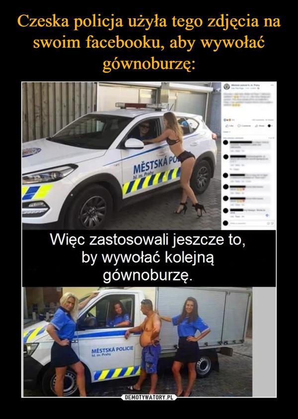 –  MESTSKAWięc zastosowali jeszcze to,by wywołać kolejnągównoburzęMESTSKA POLICIE