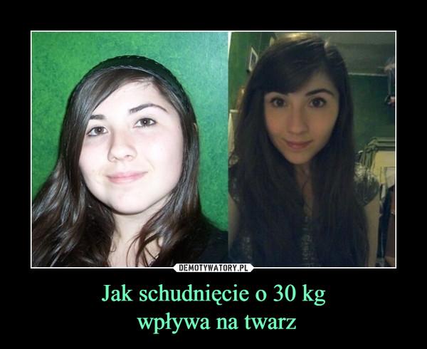 Jak schudnięcie o 30 kg wpływa na twarz –