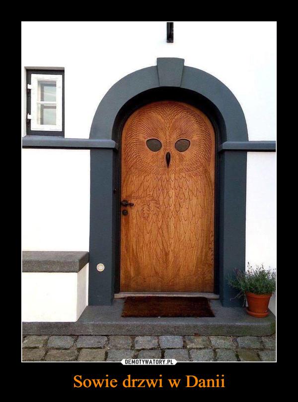 Sowie drzwi w Danii –