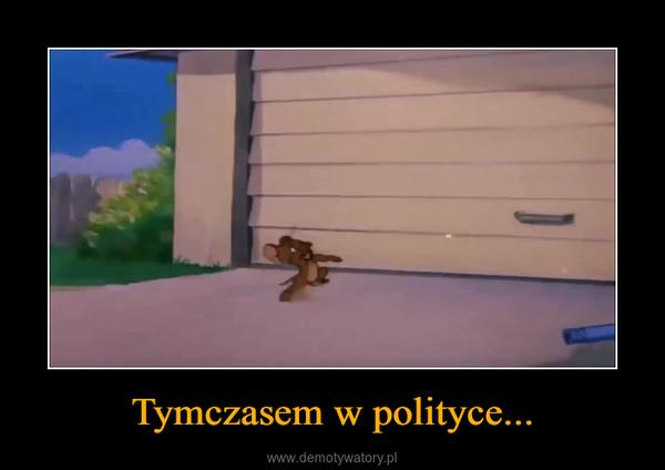 Tymczasem w polityce... –