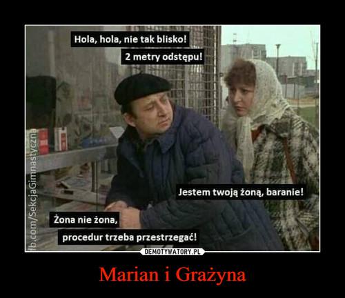 Marian i Grażyna