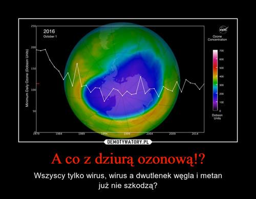 A co z dziurą ozonową!?
