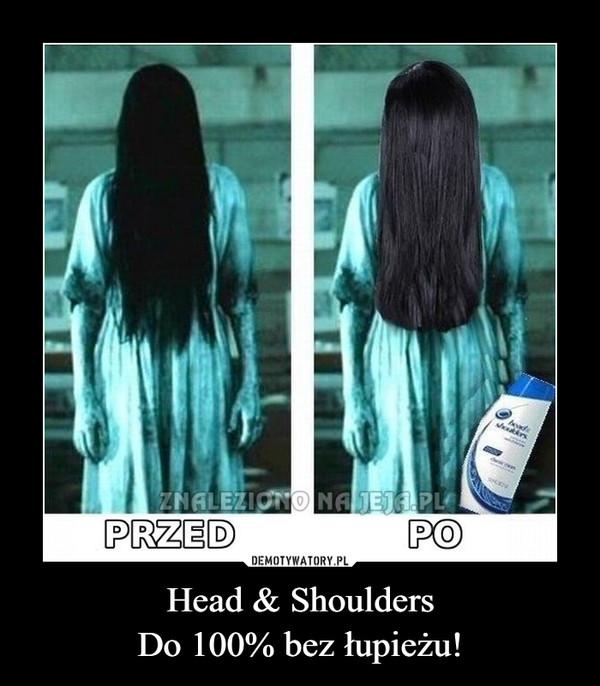 Head & ShouldersDo 100% bez łupieżu! –