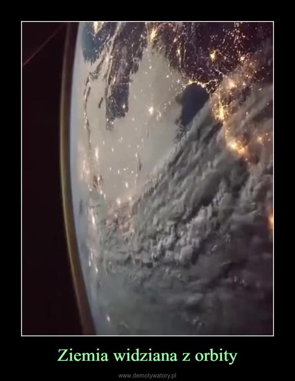 Ziemia widziana z orbity –