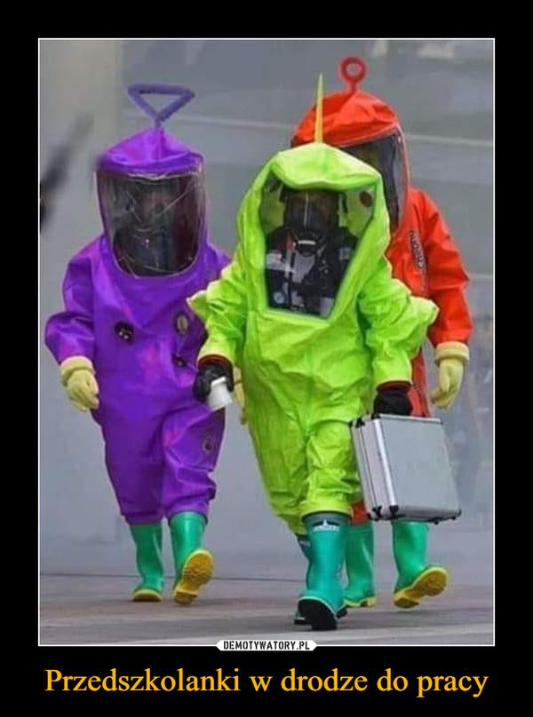 Przedszkolanki w drodze do pracy –