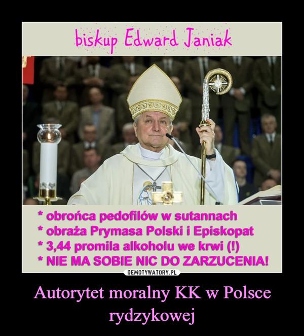 Autorytet moralny KK w Polsce rydzykowej –