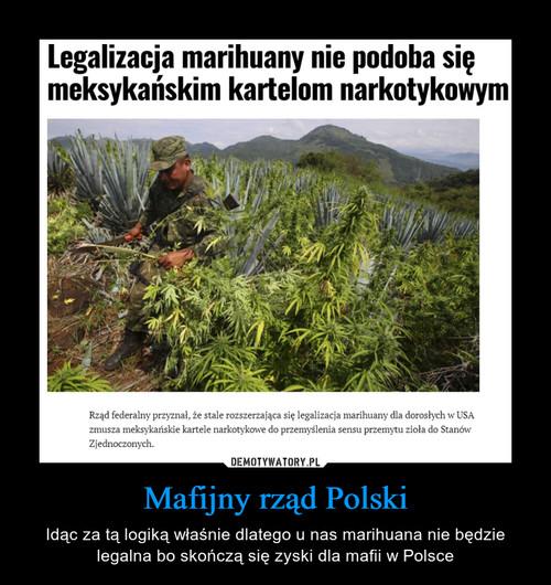 Mafijny rząd Polski