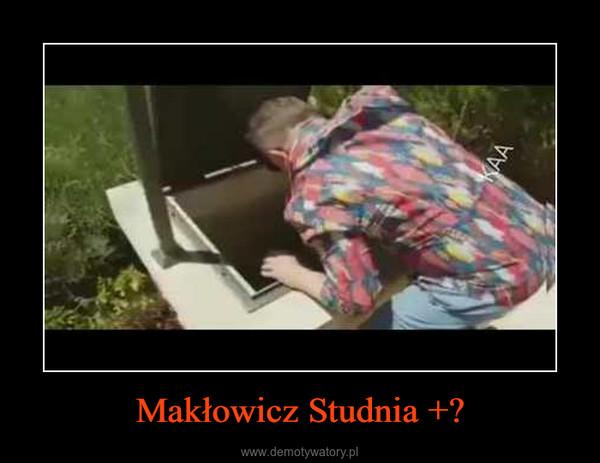 Makłowicz Studnia +? –