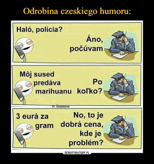 Odrobina czeskiego humoru:
