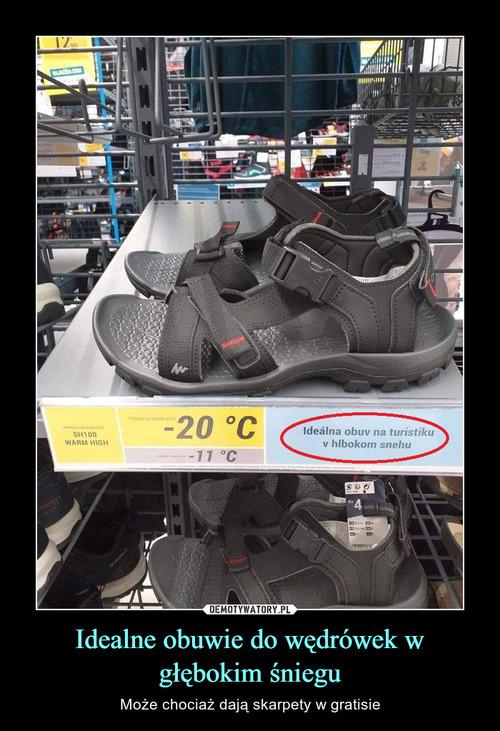 Idealne obuwie do wędrówek w głębokim śniegu