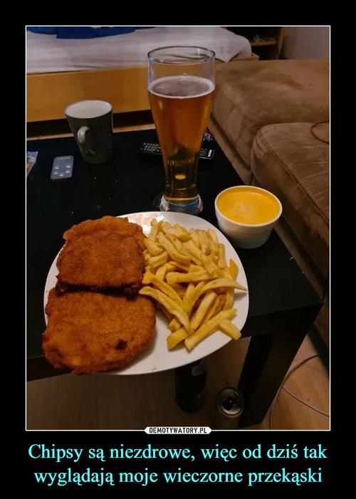 Chipsy są niezdrowe, więc od dziś tak wyglądają moje wieczorne przekąski