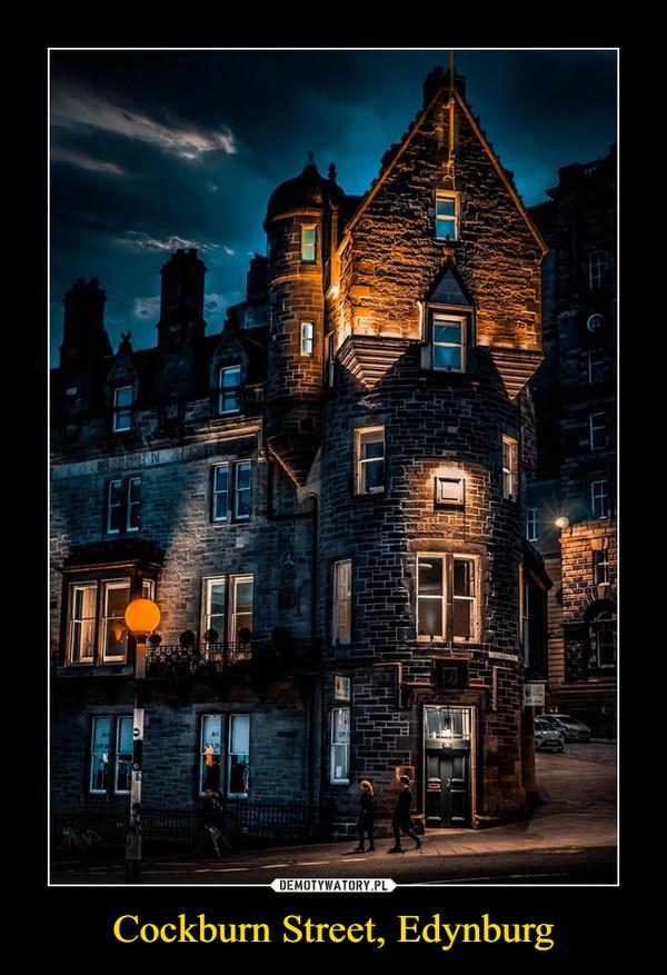 Cockburn Street, Edynburg –