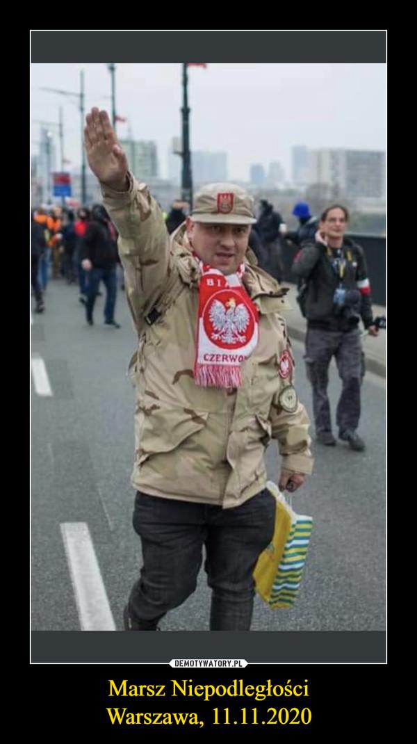 Marsz NiepodległościWarszawa, 11.11.2020 –