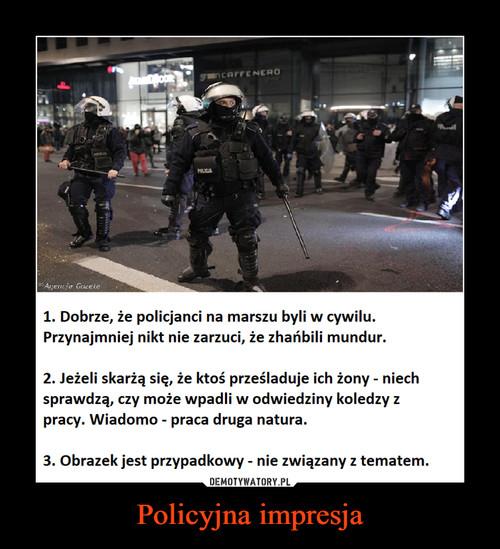 Policyjna impresja