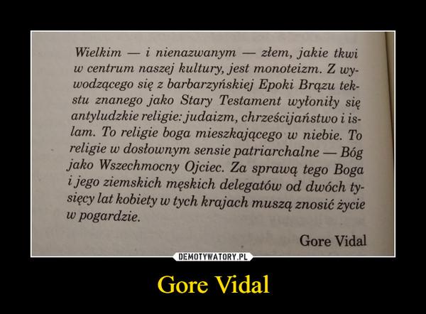 Gore Vidal –