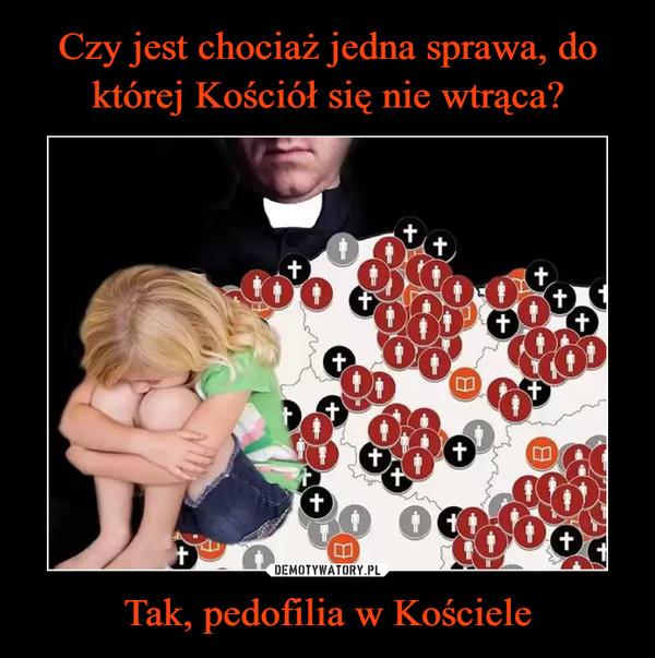 Tak, pedofilia w Kościele –