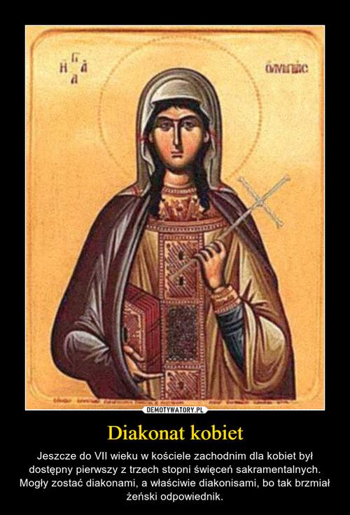 Diakonat kobiet