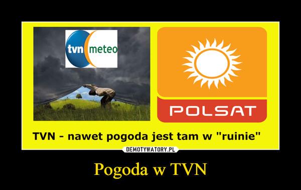Pogoda w TVN –