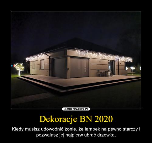 Dekoracje BN 2020