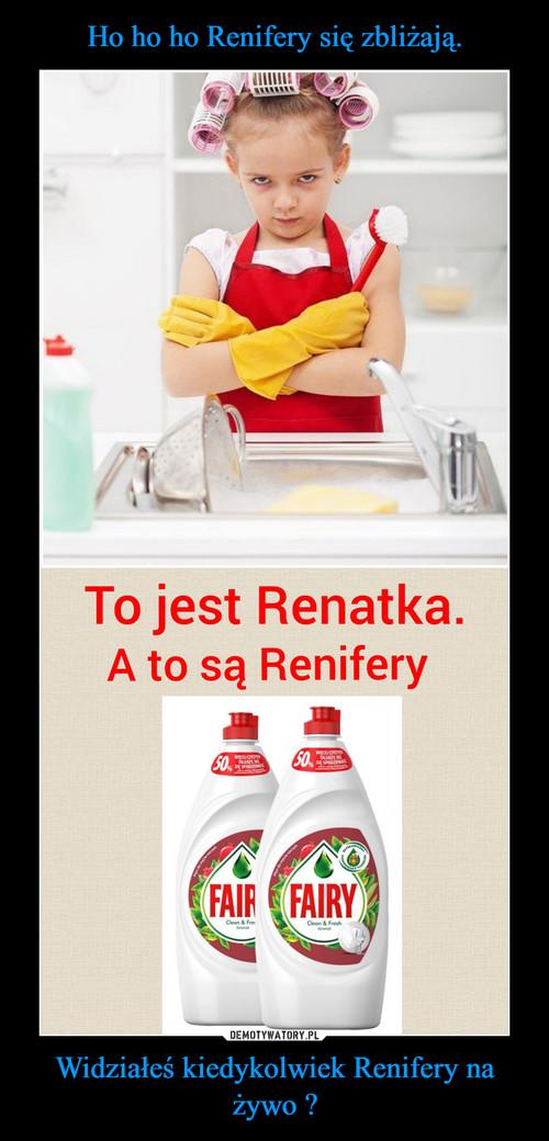 Ho ho ho Renifery się zbliżają. Widziałeś kiedykolwiek Renifery na żywo ?